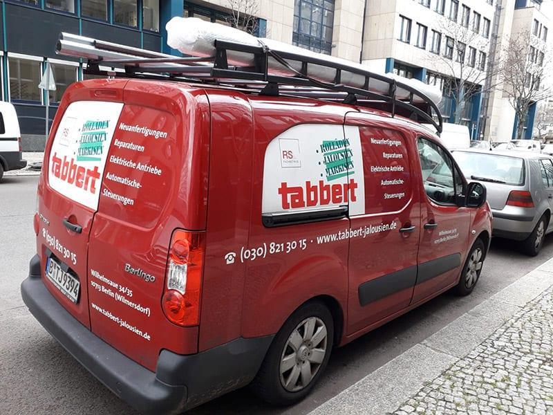 Firmenfahrzeug Tabbert